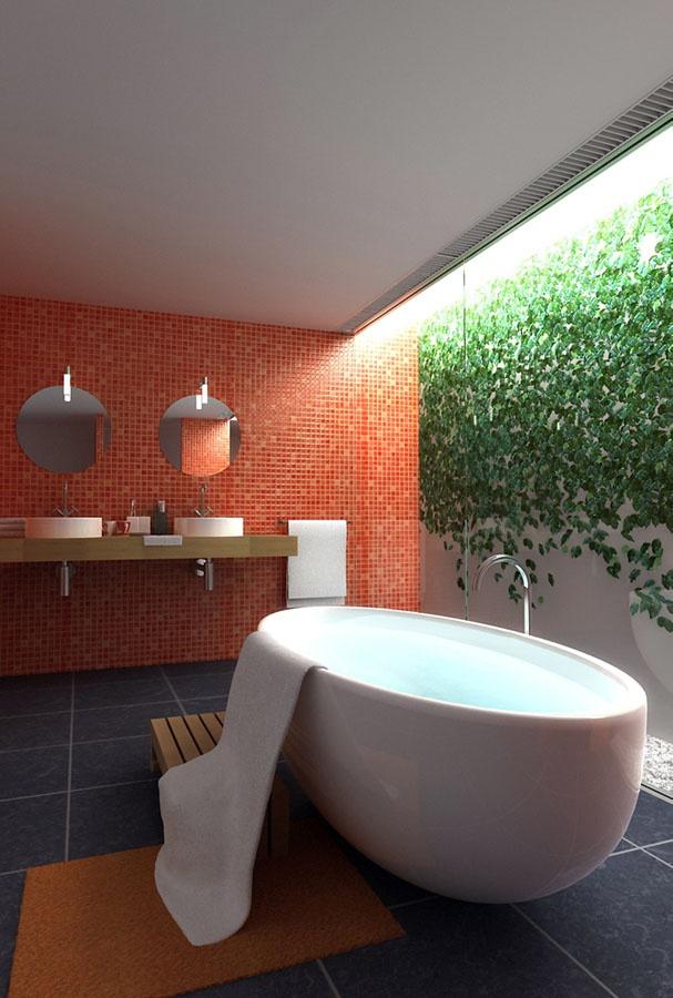 Thông tầng trong phòng tắm