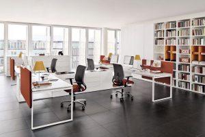 Mẫu bàn văn phòng đẹp thiết kế ấn tượng 2020