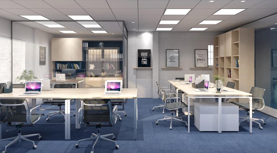 không gian nội thất văn phòng nhỏ