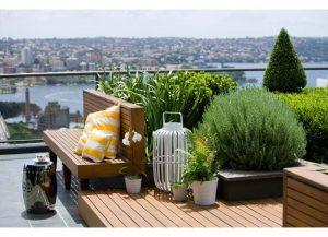 9+ mẫu vườn sân thượng cho nhà nhỏ