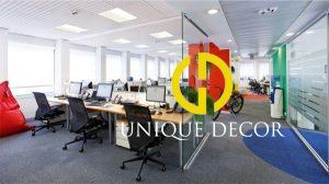 Mẫu thiết kế nội thất văn phòng Milan Google
